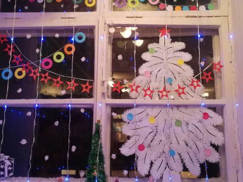 «Окно в праздник» – конкурс в детском саду №64. Фото