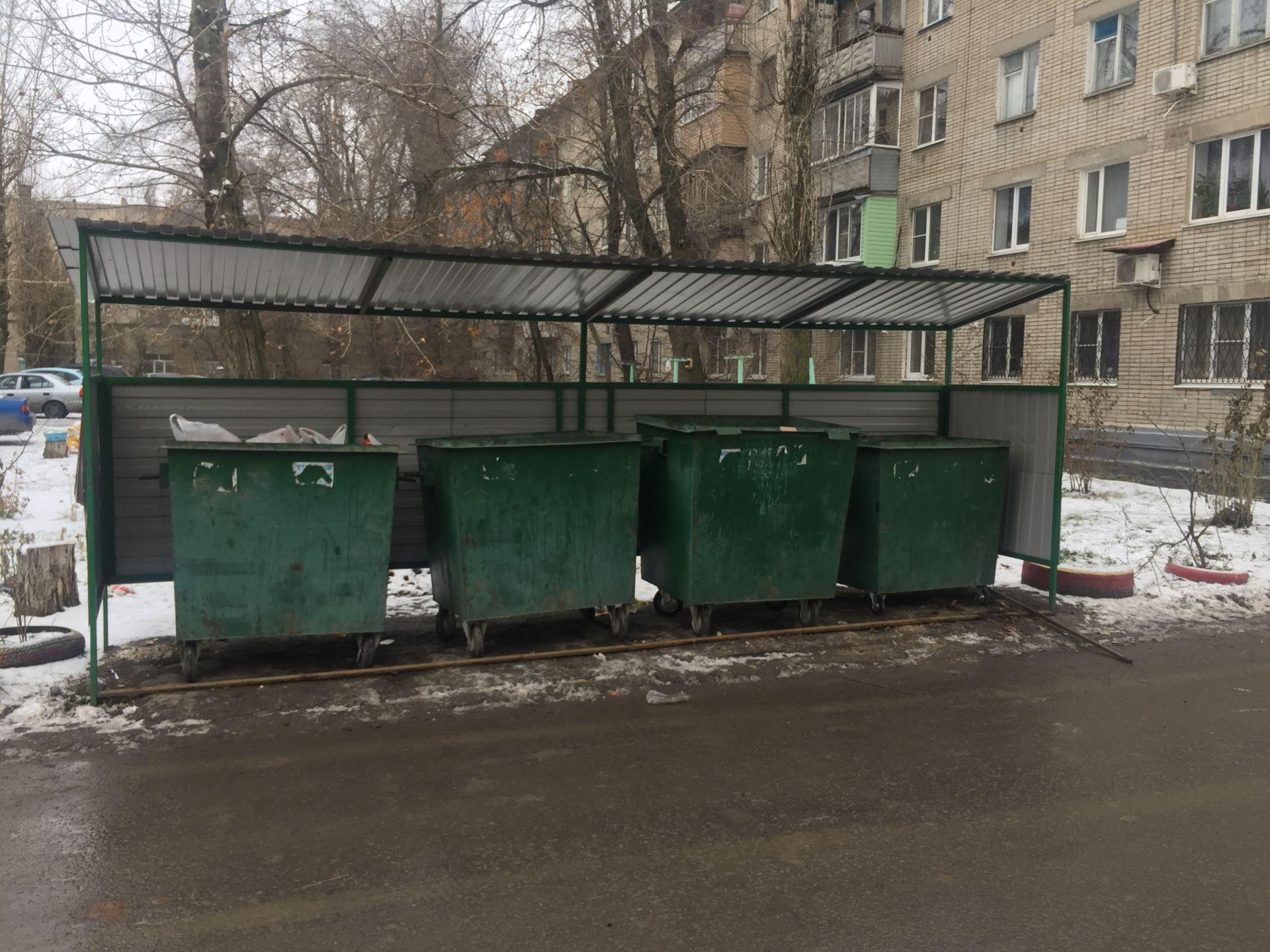Городскому моргу Новочеркасска обновили контейнерную площадку