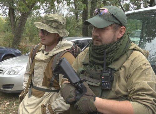 Казаки станицы Ново-Баклановская приняли участие в военно-полевом выходе