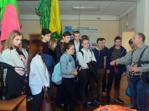В НИМИ ДонГАУ рассказали школьникам о пожарной безопасности