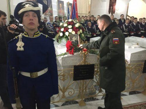 В Новочеркасске почтили память героя Кавказских войн Якова Бакланова