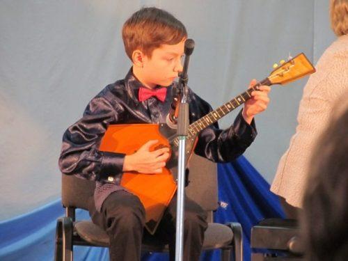 «Музыкальный калейдоскоп» собрал юных исполнителей