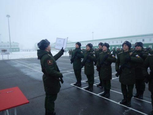 Срочники 150-й дивизии приняли присягу в Новочеркасске
