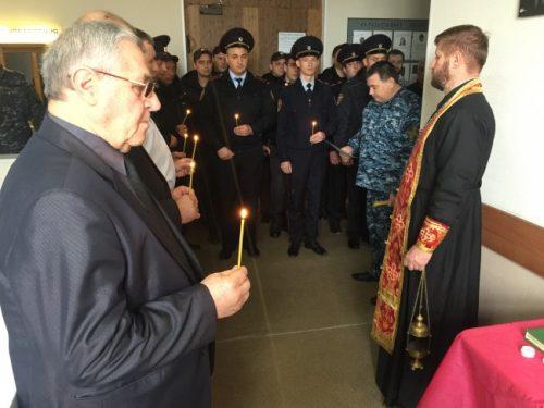 Росгвардия почтила память сотрудников, погибших при исполнении
