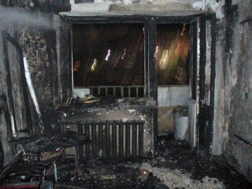 В центре Новочеркасска сгорела квартира