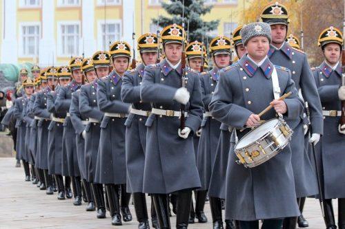 Донские казаки – срочники направлены на службу в Президентский полк комендатуры Московского Кремля