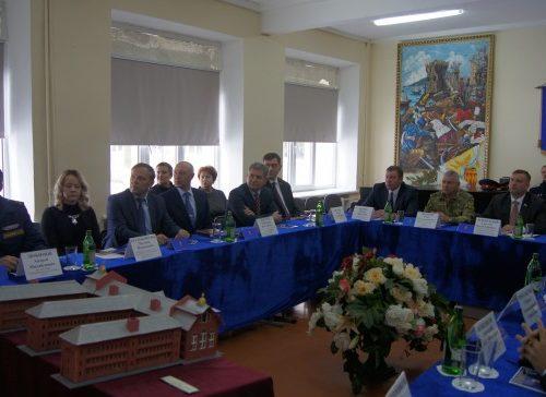 В кадетском корпусе прошло заседание Попечительского совета
