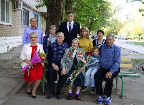 Ветерана Великой Отечественной войны поздравили с 95-летним юбилеем