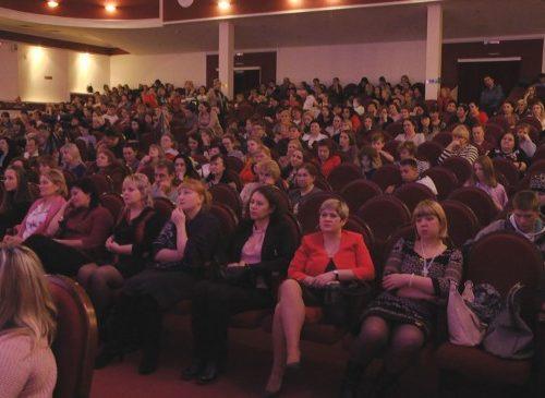 В Новочеркасске мамы принимали поздравления
