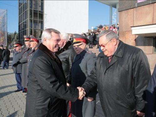 Глава правительства Ростовской области поздравил сотрудников МВД с профессиональным праздником
