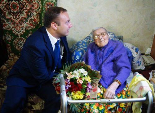 Жительница Новочеркасска отметила 100-летний юбилей в праздник Покрова Пресвятой Богородицы