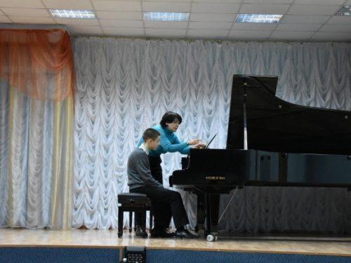 Мастер-класс Оксаны Литвиненко прошёл в ДМШ им. П.И. Чайковского