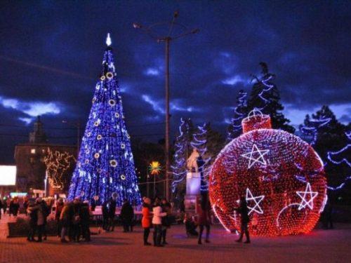 Открытие главной городской елки в Ростове состоится 26 декабря
