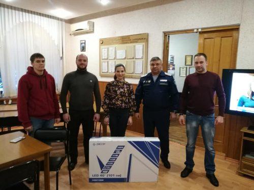 Ассоциация выпускников подарила учебное оборудование Императорскому Донскому  Александра III кадетскому корпусу