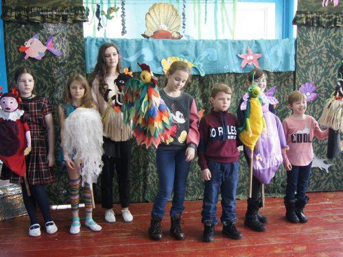 Кукольный спектакль для воспитанников Центра помощи детям
