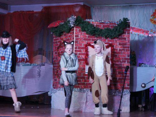 Театрализованным представлением встретили Новый год по старому стилю в музыкальной школе