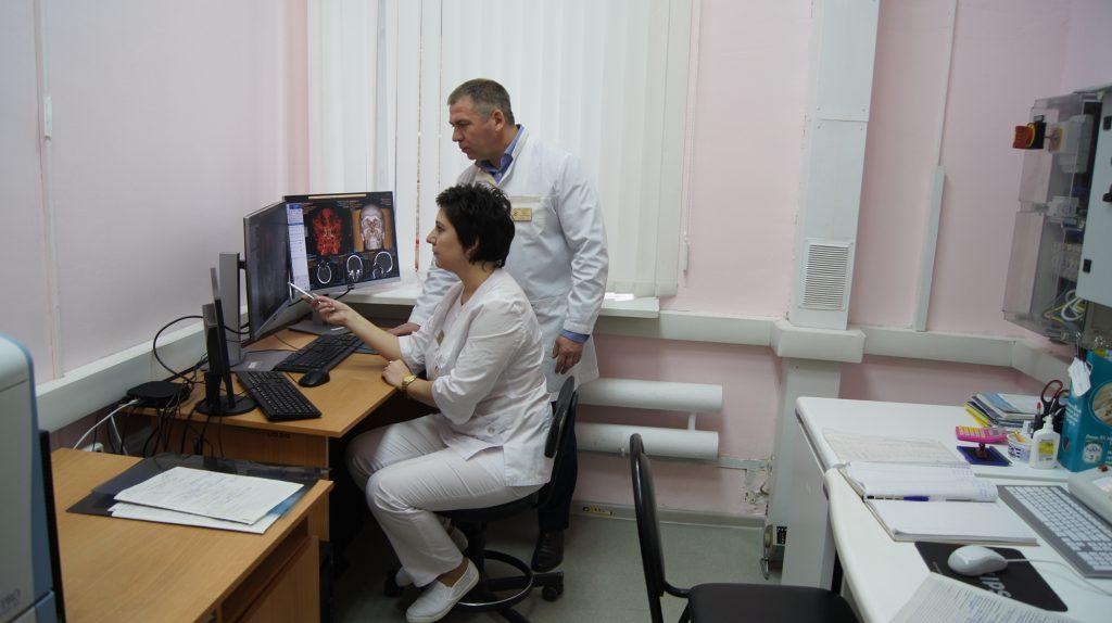 Новый многофункциональный томограф появился в новочеркасской больнице скорой медицинской помощи