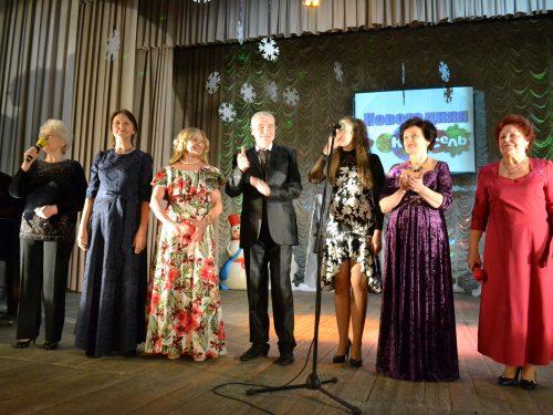 «Новогодняя карусель» – жителей Донского порадовали живой музыкой