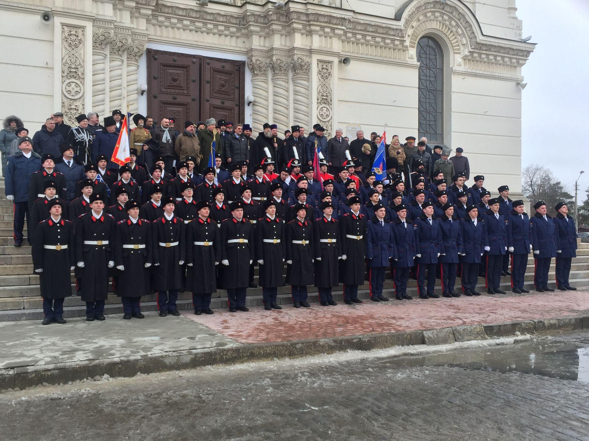 Платовская сотня ЮРГПУ стала наследницей лейб-гвардии казачьего его Императорского Величества полка
