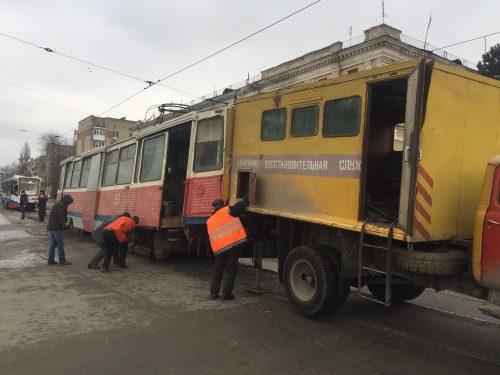 Сошедший с рельс трамвай в Новочеркасске был первопроходцем после длительного ремонта