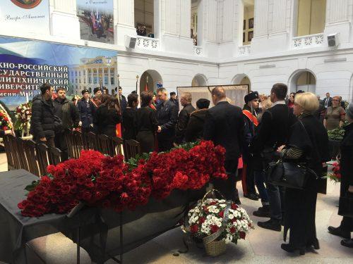 В Новочеркасске простились с ректором ЮРГПУ (НПИ) Владимиром Передерием