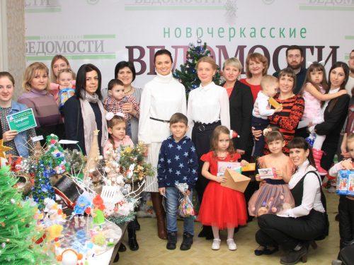 Участники Новогоднего конкурса инициируемого редакцией «НВ» получили призы почти на 100 тыс. рублей
