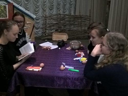 Молодежный театр «Ровесник» рассказал об истории Святок