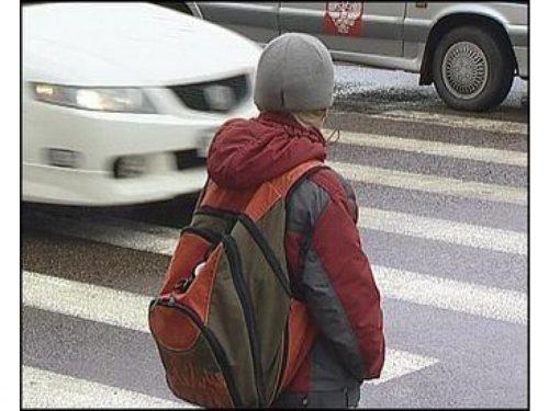 Сотрудники отдела ГИБДД продолжают работу с несовершеннолетними пешеходами