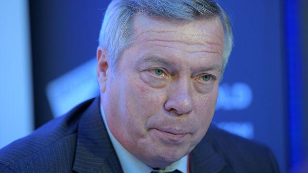 Пресс-конференция губернатора РО Василия Голубева. Видео
