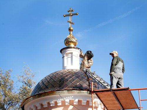 Николаевскую часовню в Новочеркасске планируют освятить в День города