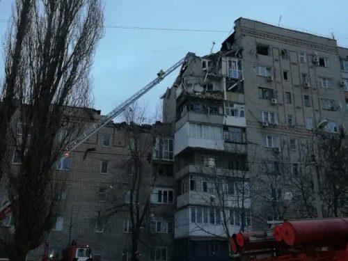 ИЗ-за взрыва бытового газа в Шахтах введен режим ЧС