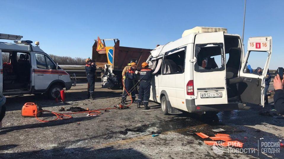 В ДТП на трассе М-4 «Дон» погибли 6 человек и пострадали 13