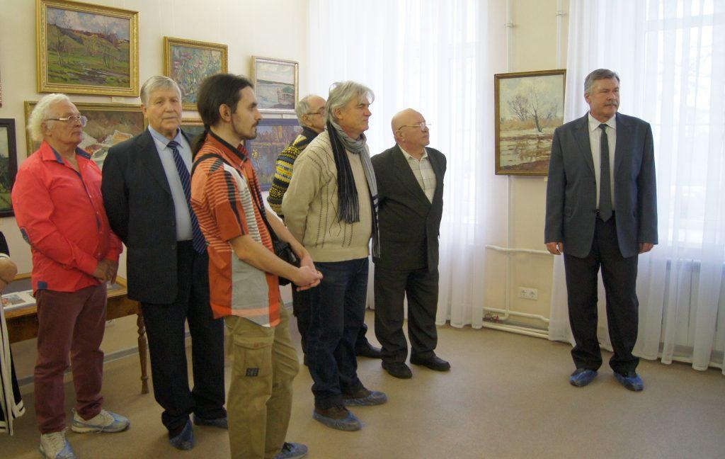 В Новочеркасске открылась выставка живописи Владимира Ивановича Кулишова