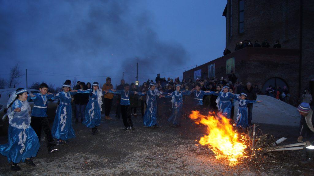Весёлый праздник Терендез отметили представители армянской национально-культурной автономии «Ани»