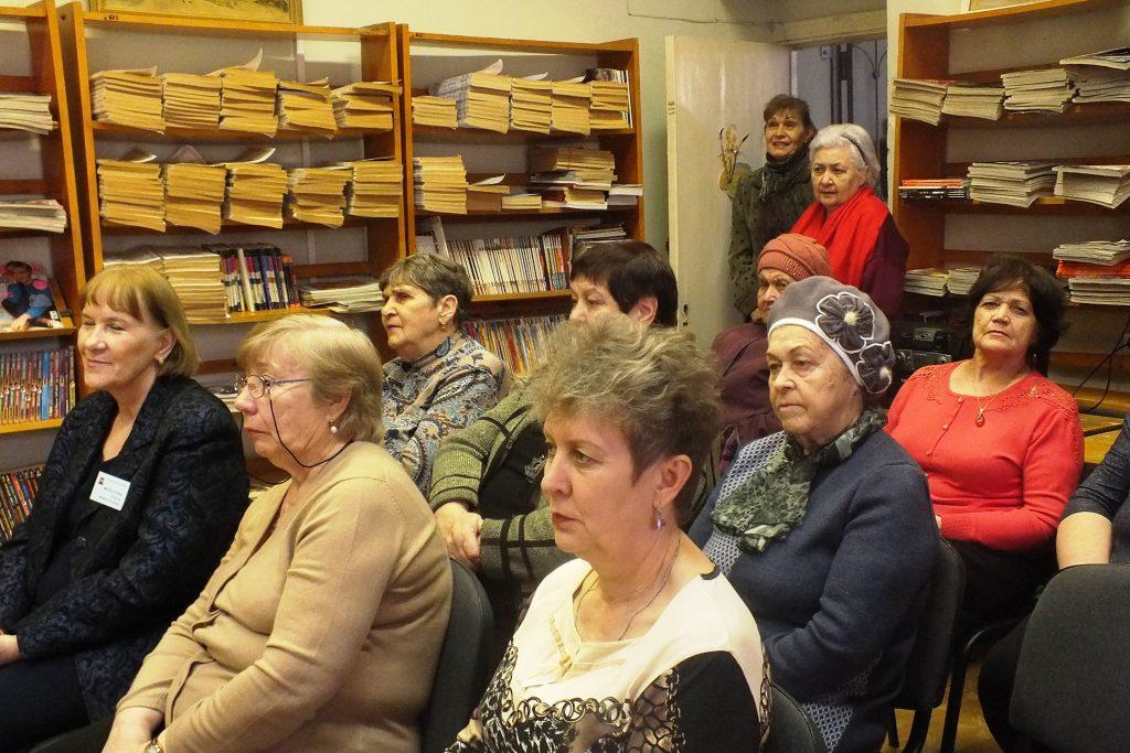 Клуб «Воспоминание» собрал любителей творчества советских артистов