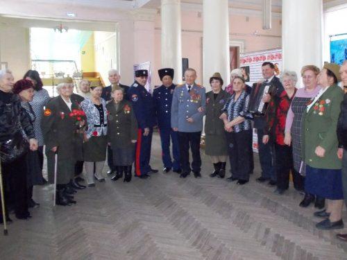 76-ю годовщину освобождения Новочеркасска от фашистских захватчиков отметили в Октябрьском