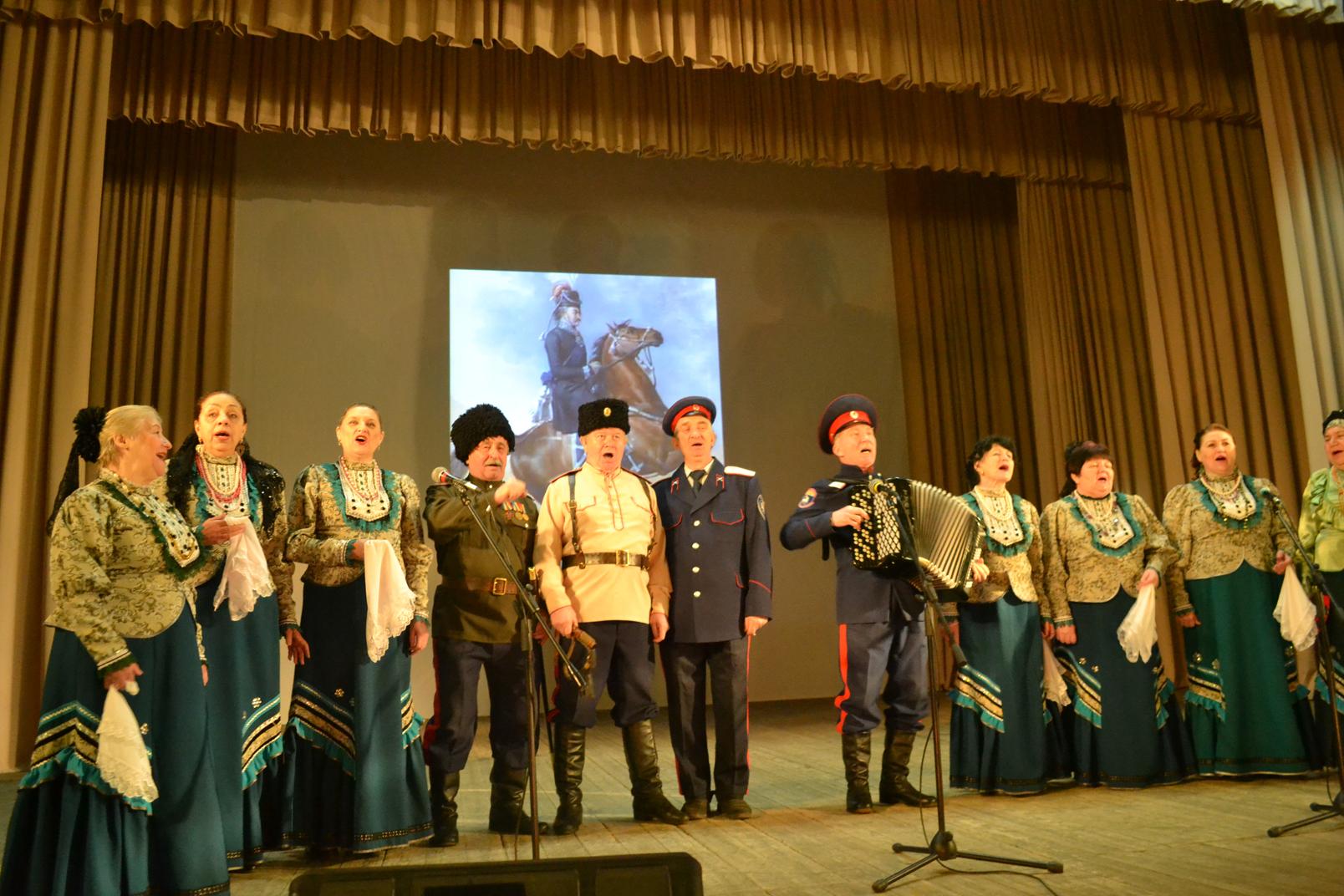 О казачьей доблести рассказали казаки станицы Донской