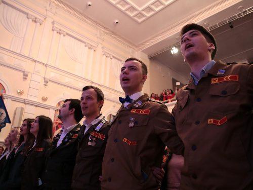 Лучшие студенческие отряды области получили переходящее знамя губернатора