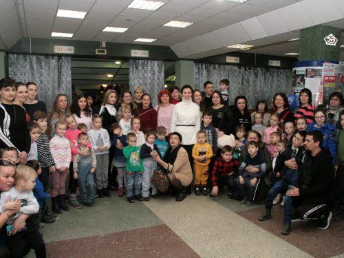 Почти 70 человек приняли участие в благотворительной акции в Новочеркасске