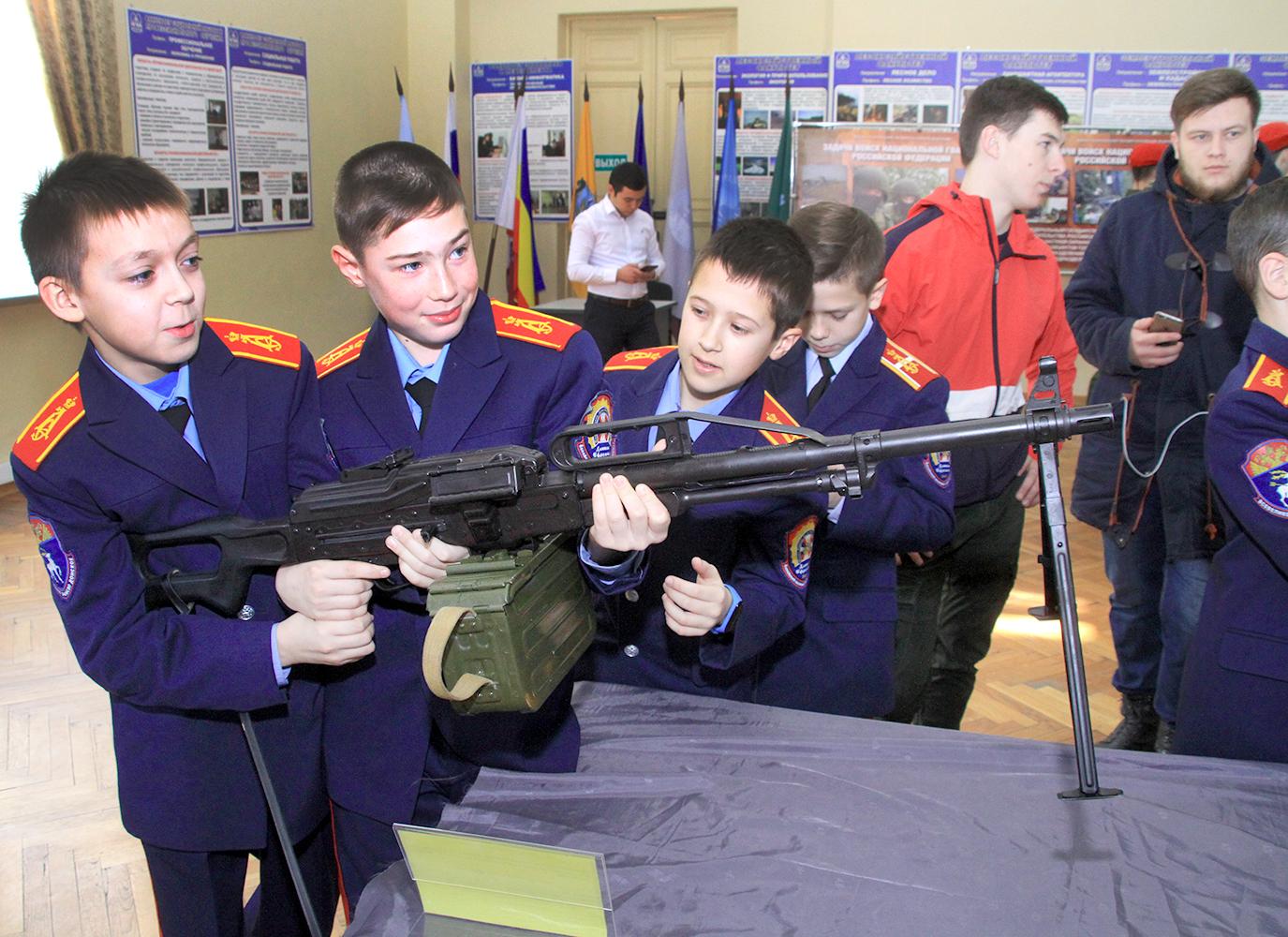 В одном из ВУЗОВ Новочеркасска состоялся традиционный урок мужества. Фото