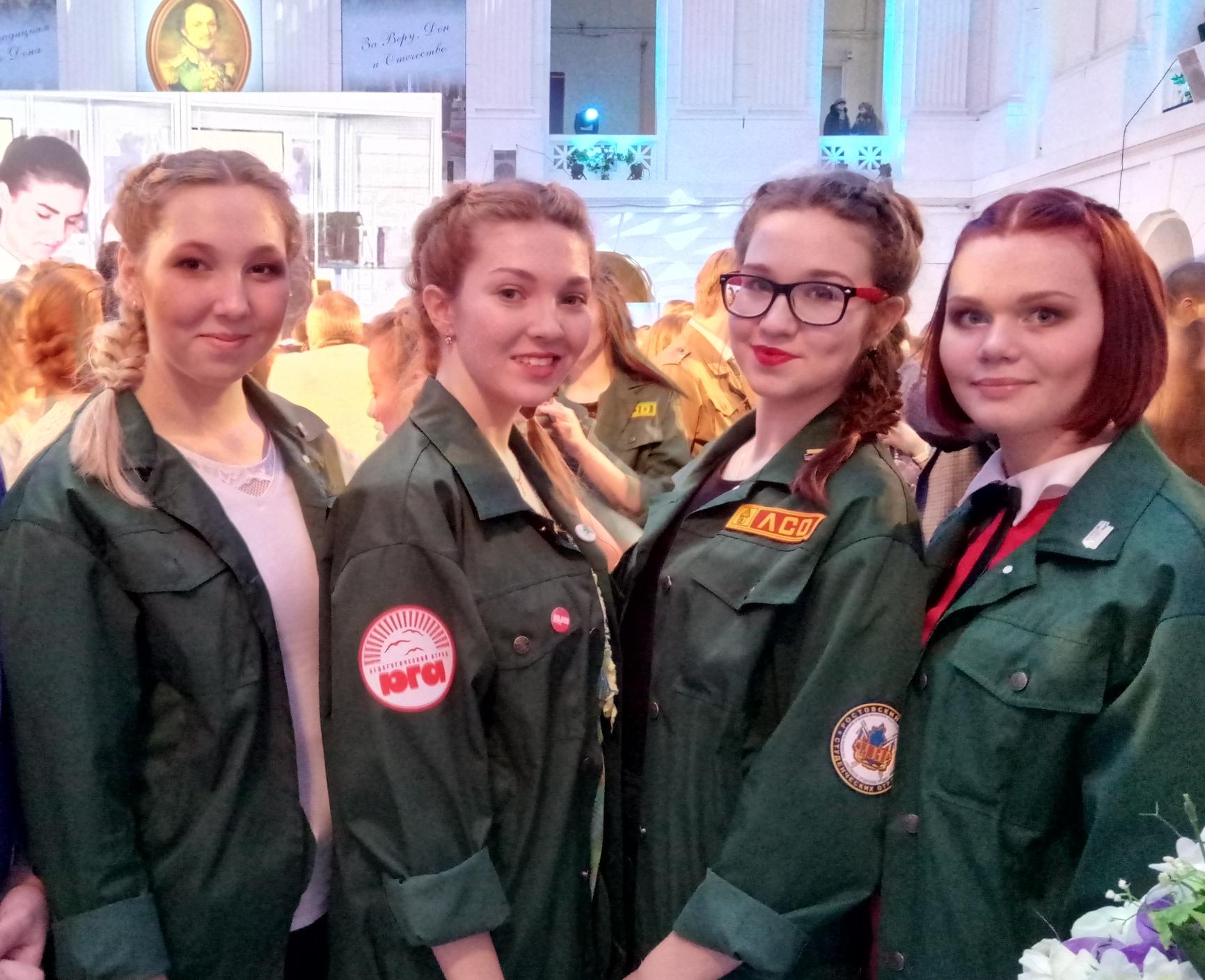 Первая агитационная кампания студенческих отрядов началась в Ростовской области
