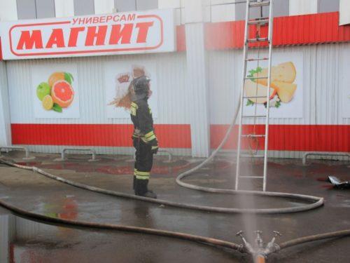 На проспекте Платовский произошел пожар