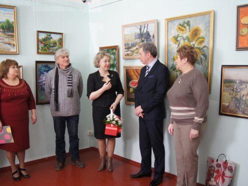 Юбилейная выставка школы искусств «Лира-Альянс» открылась в Доме-музее М.Б. Грекова