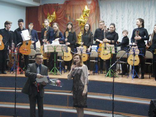 В Новочеркасске впервые дал концерт гитарный оркестр «Классика»