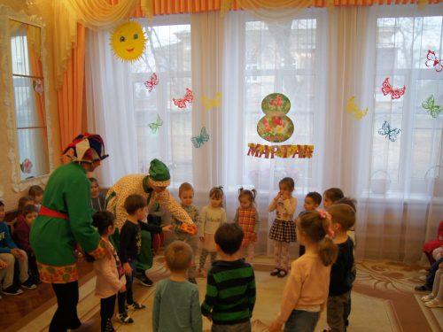 Весёлая Масленица в детском саду №11