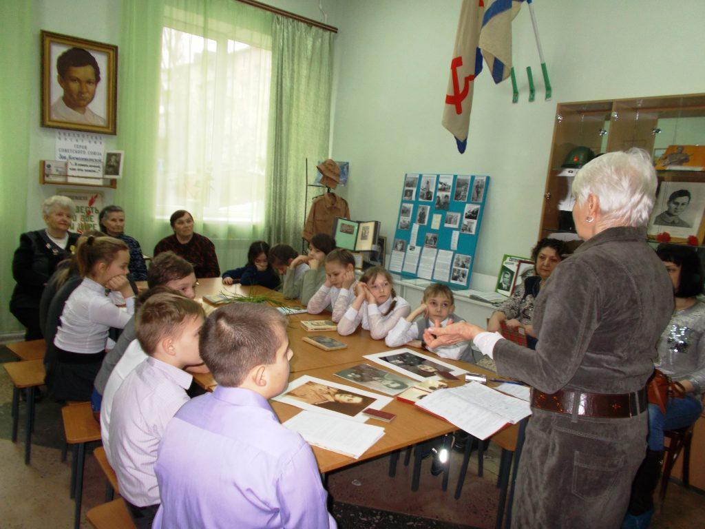 Ветераны рассказали школьникам о героях Великой Отечественной войны