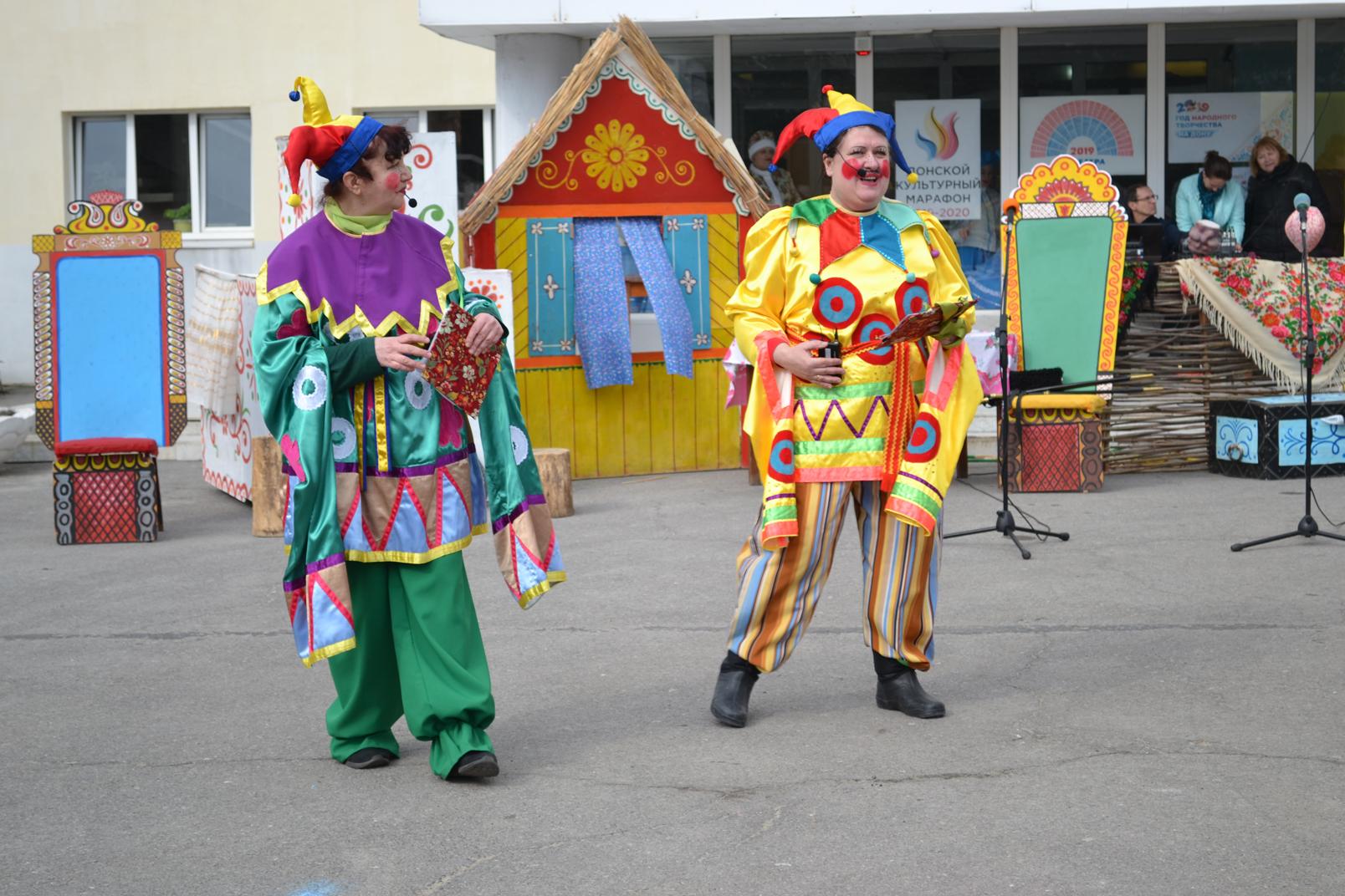 В день  Прощеного воскресенья жители Донского стали участниками фольклорного праздника