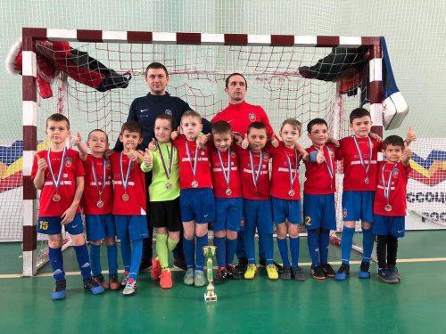 Новочеркассцы заняли третье место в открытом первенстве по минифутболу