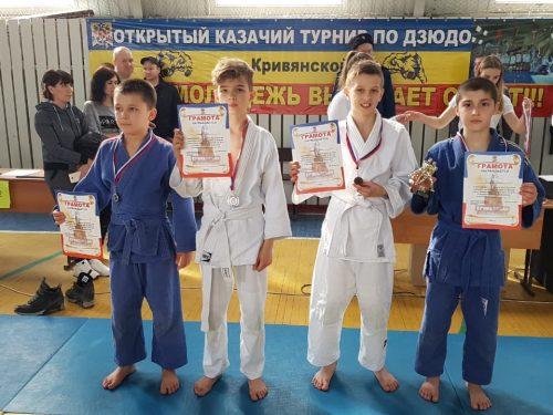 Новочеркасские дзюдоисты завоевали кубок на очередных соревнованиях