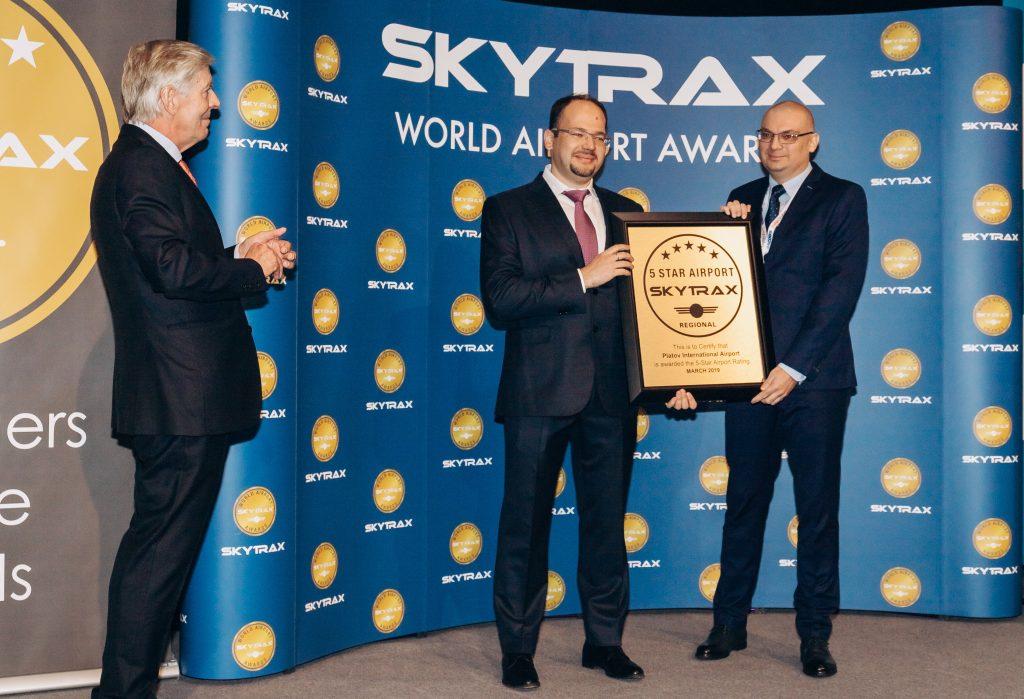 Торжественное вручение сертификата 5 звезд Skytrax аэропорту Платов состоялось